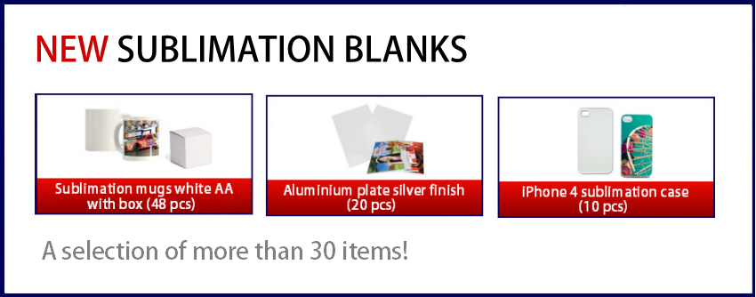 Cyber Sales - 15% rebate on Sublimation blanks