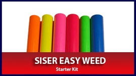 Siser Easy Weed Fluorescent Starter Kit