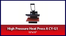 "Heat Press Model A 15"" X 15"" CY-G1"