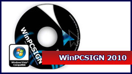 Upgrade your WinPCSIGN  Plus or  Pro (10, 14, 2007, 2009)  to  PRO 2010 (CD + Key)