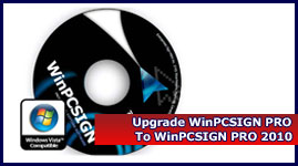 WinPCSIGN  2010 - Upgrade Pro 2009  to Pro 2010  (Downloadable Software)