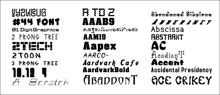 7200  Fonts Collection CD