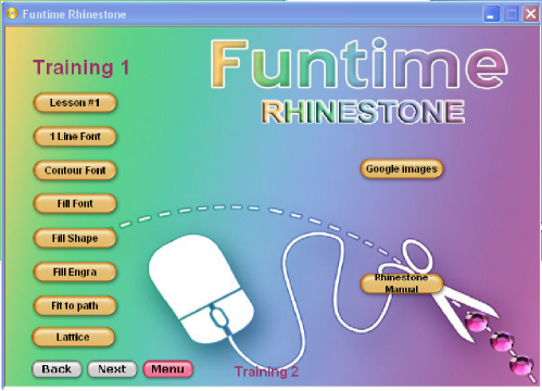 rhinestone template cutter machine