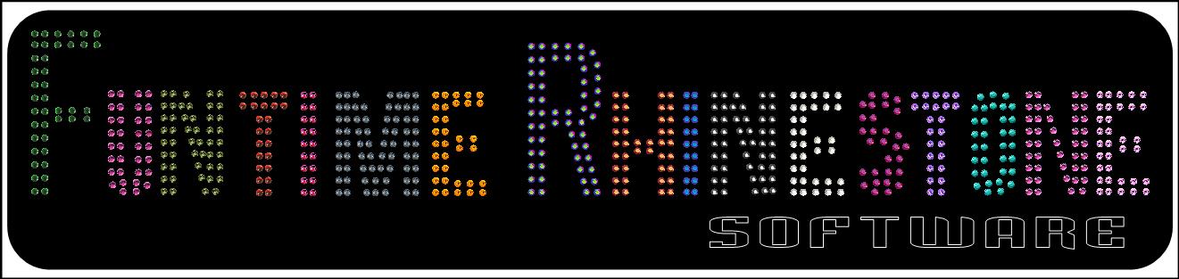 Brand New Funtime Rhinestone Software Cut Template