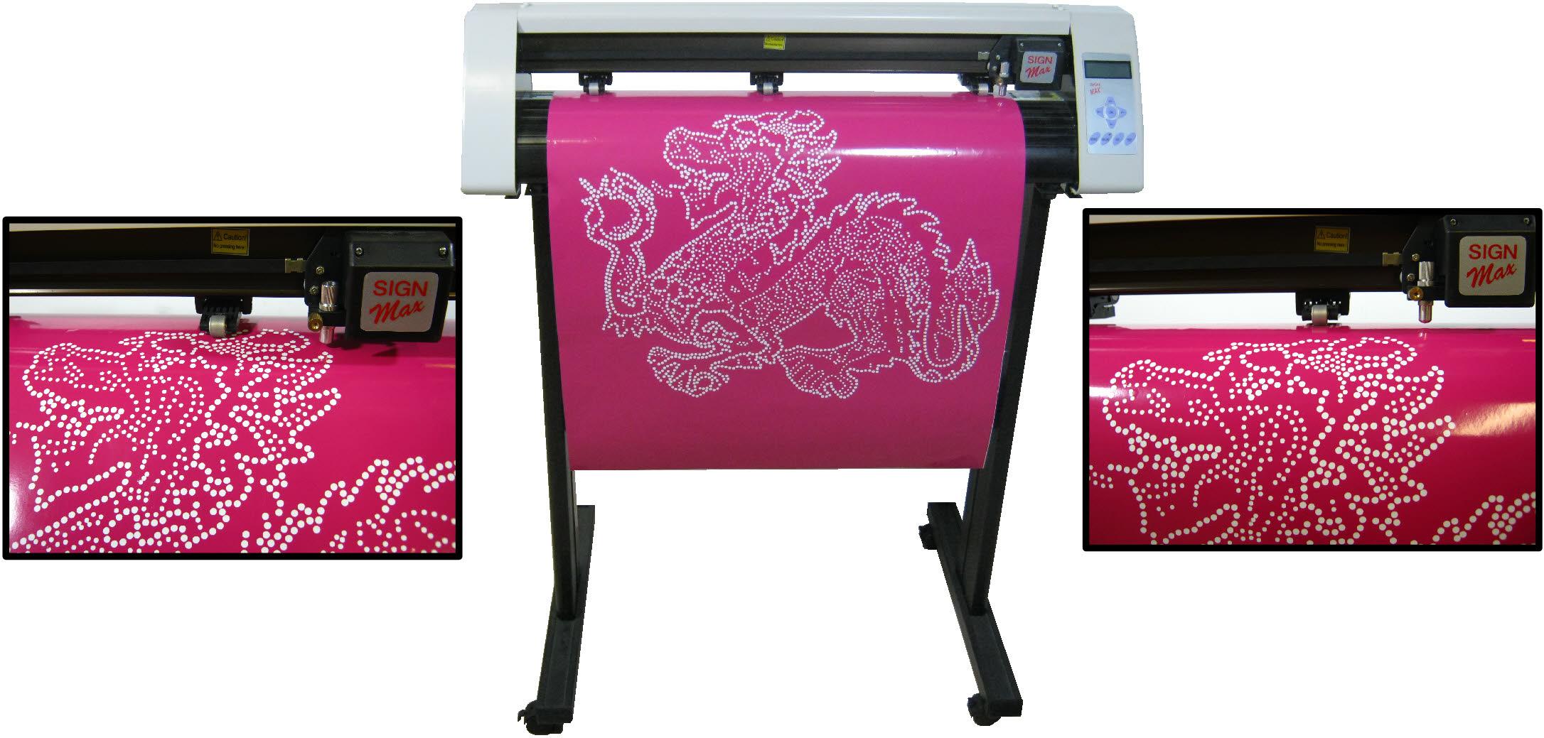 24 Vinyl Cutter For Rhinestone Template Lettering 2014 Pro