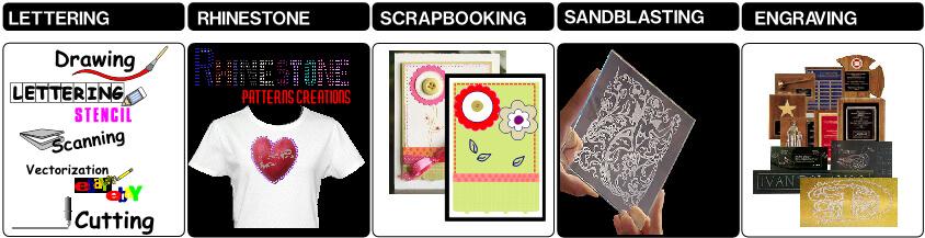 Cutting Signs Rhinestone Vinyl Cutter Software Winpcsign