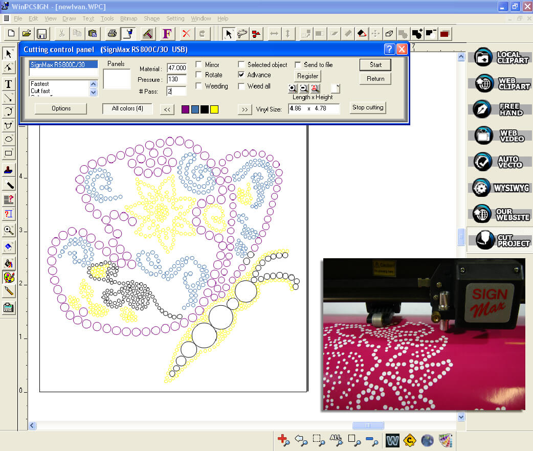Details about CorelDRAW COMPATIBLE #1 PLOTTER SOFTWARE WinPC-SIGN PRO 14 +  RHINESTONE PROGRAM